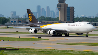 N617UP - Boeing 747-84AF - United Parcel Service (UPS)