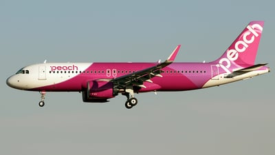F-WXAL - Airbus A320-251N - Peach Aviation
