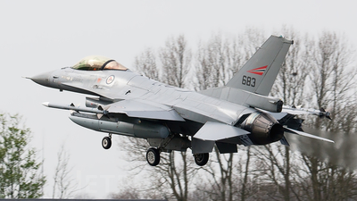 683 - General Dynamics F-16AM Fighting Falcon - Norway - Air Force