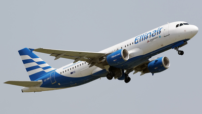 SX-EMJ - Airbus A320-214 - Ellinair