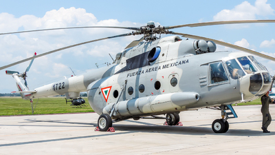 1722 - Mil Mi-17 Hip - Mexico - Air Force