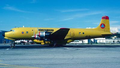 F-ZBAD - Douglas DC-6B - France - Sécurité Civile
