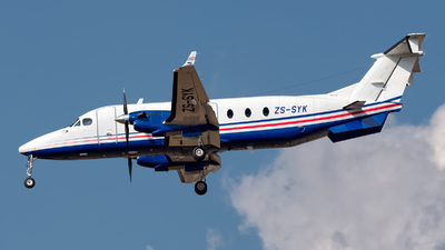 ZS-SYK - Beech 1900D - Private