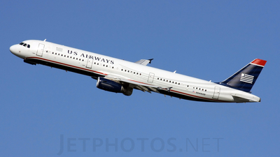 N544UW - Airbus A321-211 - US Airways