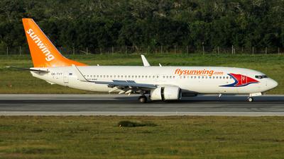 OK-TVT - Boeing 737-86N - Sunwing Airlines (Travel Service)