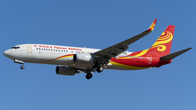 B-5798 - Boeing 737-84P - Hainan Airlines