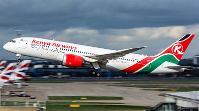 5Y-KZB - Boeing 787-8 Dreamliner - Kenya Airways