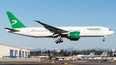 N55061 - Boeing 777-22KLR - Turkmenistan Airlines