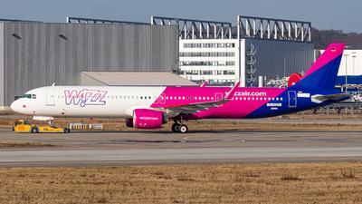 D-AVZH - Airbus A321-271NX - Wizz Air