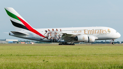 A6-EOD - Airbus A380-861 - Emirates