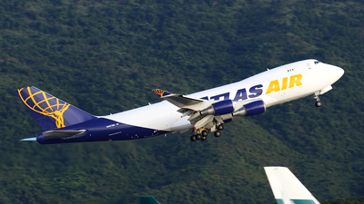 N487MC - Boeing 747-45EF(SCD) - Atlas Air