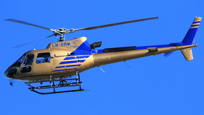 LN-OMW - Eurocopter AS 350B3 Ecureuil - Pegasus Helicopters