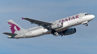 A7-AHQ - Airbus A320-232 - Qatar Airways