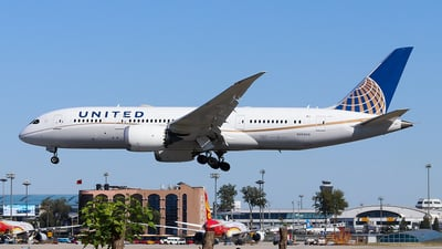 N26909 - Boeing 787-8 Dreamliner - United Airlines