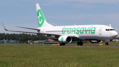PH-HXD - Boeing 737-8K2 - Transavia Airlines