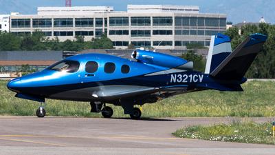 N321CV - Cirrus Vision SF50 - Private