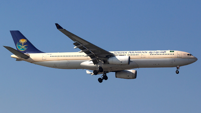 A picture of HZAQC - Airbus A330343 - Saudia - © Bora Polater