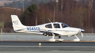 N545CD - Cirrus SR22 - Private