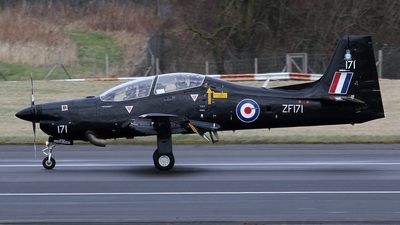 ZF171 - Short Tucano T.1 - United Kingdom - Royal Air Force (RAF)