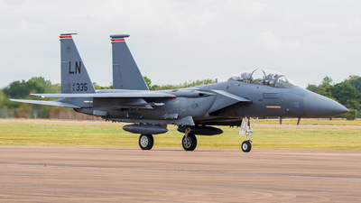 91-0335 - McDonnell Douglas F-15E Strike Eagle - United States - US Air Force (USAF)