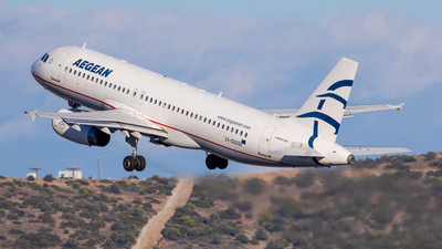 A picture of SXDGO - Airbus A320232 - Aegean Airlines - © Kostas Marmarelis