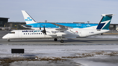 A picture of CGWEG - De Havilland Canada Dash 8400 - WestJet - © GN