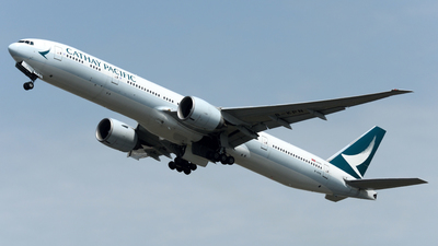 A picture of BKPN - Boeing 777367(ER) - Cathay Pacific - © Alvin Ho - AHKGAP
