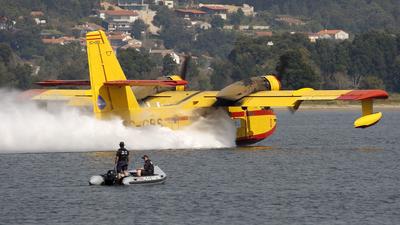EC-GBS - Canadair CL-215T - Compañía de Extinción General de Incendios (CEGISA)