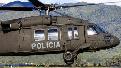 PNC-0615 - Sikorsky UH-60A Blackhawk - Colombia - Police