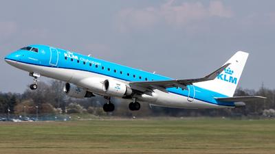 A picture of PHEXJ - Embraer E175STD - KLM - © Jarek Siejakowski