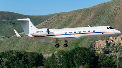 N550AA - Gulfstream G550 - Private