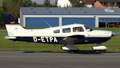 A picture of DETPA - Piper PA28181 Archer III - [2843553] - © Daniel Schwinn
