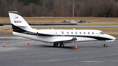 N16YF - Cessna 680 Citation Sovereign Plus - Private