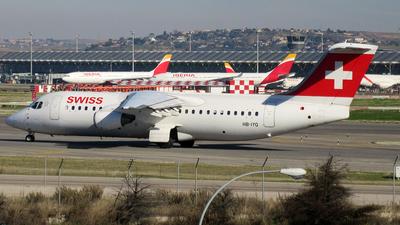 HB-IYQ - British Aerospace Avro RJ100 - Swiss