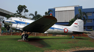T-459 - Douglas C-47A Skytrain - Indonesia - Air Force