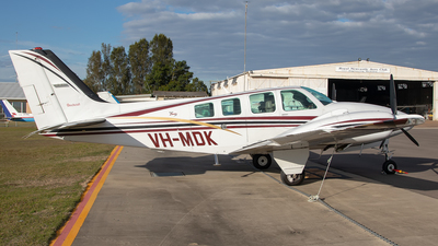 A picture of VHMDK - Beech 58 Baron - [TH1853] - © Mark B Imagery