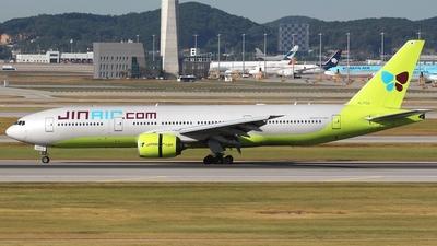 HL7733 - Boeing 777-2B5(ER) - Jin Air