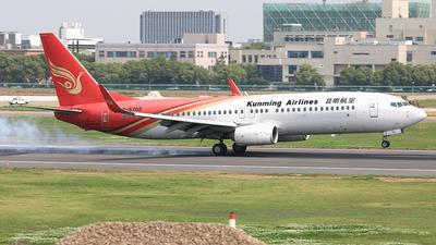 B-5702 - Boeing 737-87L - Kunming Airlines