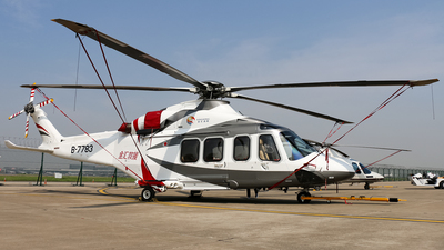 B-7783 - Agusta-Westland AW-139 - Shanghai Kingwing General Aviation