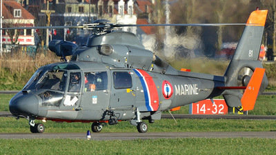 81 - Eurocopter AS 365N2 Dauphin - France - Navy