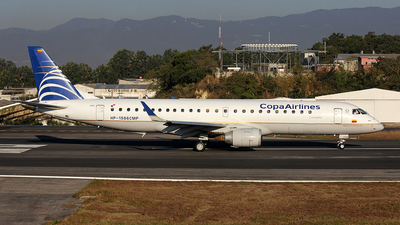 HP-1566CMP - Embraer 190-100IGW - Copa Airlines