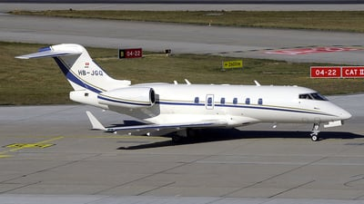HB-JGQ - Bombardier BD-100-1A10 Challenger 300 - ExecuJet Aviation