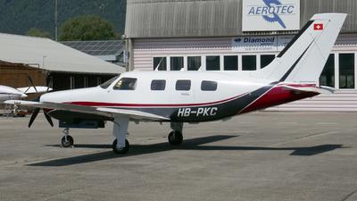 A picture of HBPKC - Piper PA46310P Malibu - [468608033] - © Mirko Bleuer