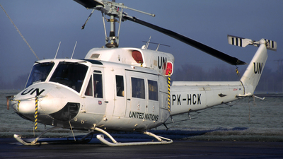 PK-HCK - Bell 212 - Bristow Helicopters