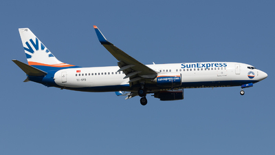 A picture of TCSPD - Boeing 7378AS - SunExpress - © PM