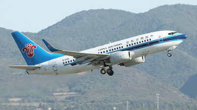 B-2916 - Boeing 737-71B - China Southern Airlines