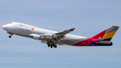 HL7420 - Boeing 747-48EF(SCD) - Asiana Airlines