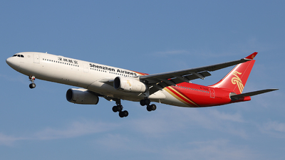 A picture of B302E - Airbus A330343 - Shenzhen Airlines - © Dave Zhang