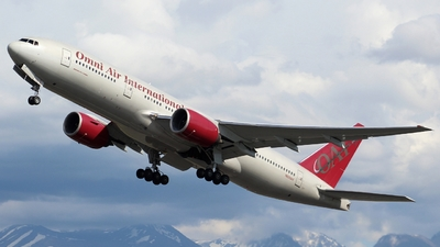 N828AX - Boeing 777-2U8(ER) - Omni Air International (OAI)