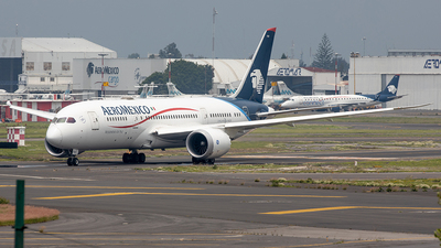 A picture of N782AM - Boeing 7878 Dreamliner - Aeromexico - © Edmundo Iturralde